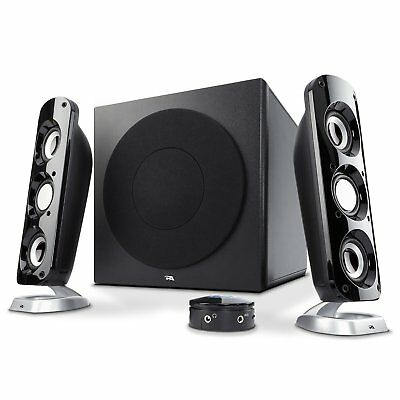 92w powerful computer speakers with subwoofer a thunderous 2.1 gaming speaker