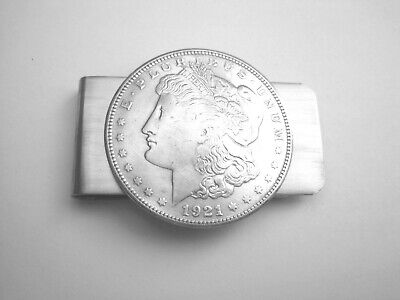Morgan dollar money clip- Antique silver coin-gorgeous!