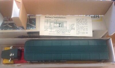 Rare 1976 Hess Toy Barrel Truck with Original Box and Insert. Made in Hong Kong