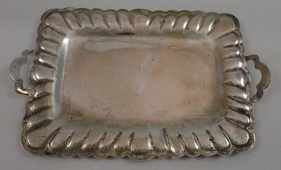 Vintage Sterling SIlver 925 Mexico 53 Inside Eagle Mark Minature Silver Tray