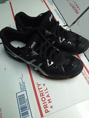 ASICS Womens GEL-TACTIC B554N Volleyball  Shoes NO Insoles! EXCELLENT COND! Sz 9