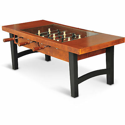 Luxury Wooden Soccer Table Game Indoor Foosball House Sports Bar Teenager Adult
