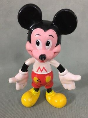 Vintage Mickey Mouse Figur Disney Mickey Mouse 13,5cm