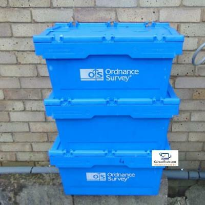 Schafer Stackable Storage Bins With Lids Mb627 Used