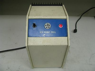 Dynatech Ice Point Cell Thermometer Calibrator FE25