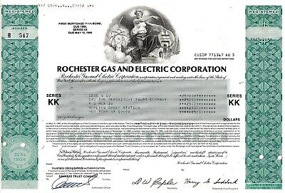 Rochester Gas & Electric Corp., 11 1/4% First Mortg. Bond due 1995 (25.000 $)