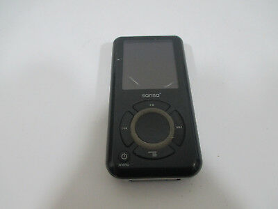 SanDisk Sansa e280 Black /silver W Micro SD Slot 8 GB  Digital Media Player MP3