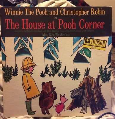 "WINNIE THE POOH & Christopher Robin in ""House at Pooh Corner"" LP  1961 Judson"