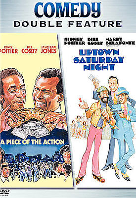 A Piece of the Action/Uptown Saturday Night (DVD, 2006)