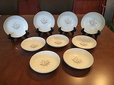 Nine (9) Kaysons International 'Golden Rhapsody' China Fruit/Berry Bowls 5 5/8""