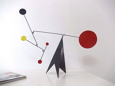 Stabile Table-top mobile Kinetic sculpture Hanging mobile Stabilen Mobilee