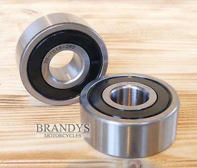 "2 Radlager 3/4"" 19 mm Harley Softail Sportster Touring Dyna 00-07 o.ABS OEM 9267"