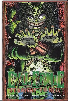 Autographed Chaos! comics Evil Ernie: Straight to Hell #1 signed by Brian Pulido