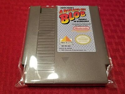 A Boy And His Blob (Nintendo Entertainment System) CLEANED AND TESTED