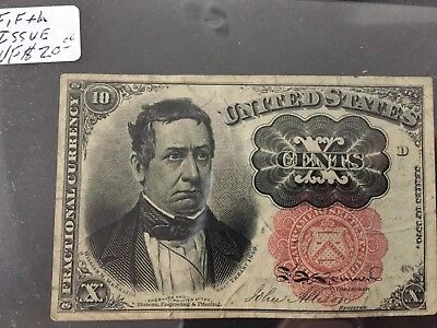 US Fractional Currency - 10 Cents Note