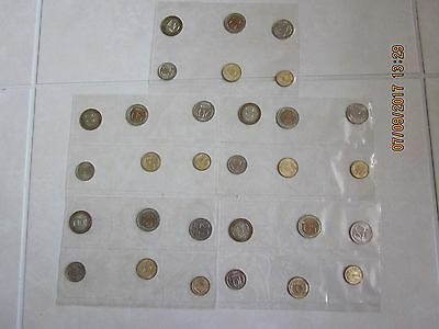 Russia Russian FIVE 5 SETS 1992 Uncirculated 6 coin set ruble kopeck Forme USSR