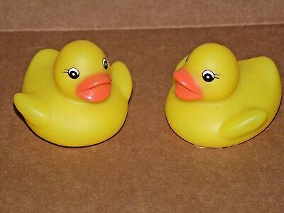 MINI RUBBER DUCKS Duckie Baby Shower Birthday Party Kids Play 1.5 ...