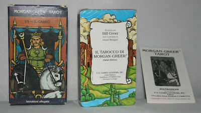 Morgan Greer Tarot Deck_Lloyd Morgan_Edición Italiana _78 cartas U.S.Games 1993