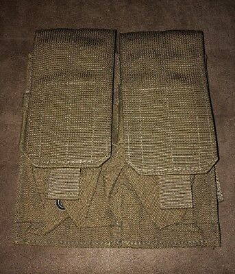 Eagle Industries USMC Coyote Brown MOLLE II Double Magazine Pouch - New
