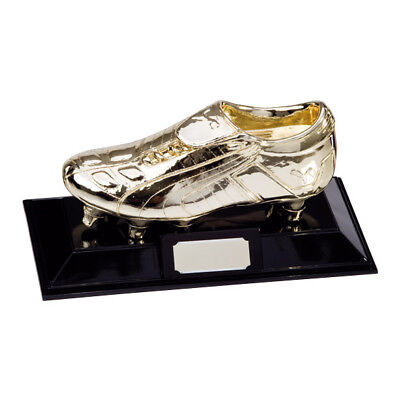 Golden Puma Boot Football Trophies FREE Engraving