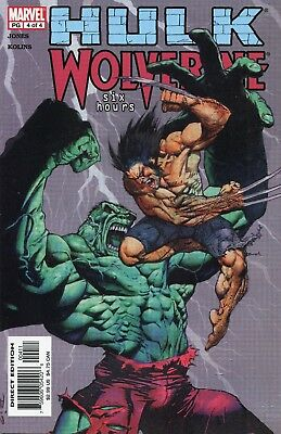 2003 Hulk Vs Wolverine: Six Hours #3 & #4 Marvel Comics Vf/nm