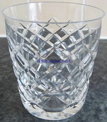 """WATERFORD TYRONE CRYSTAL cut GLASS 3&3/8"""" 160ml TUMBLER 7 available"""