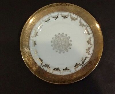 "Vintage Mitterteich Bavaria Fine Bone China Plate 7.50"" Bavaria Germany"
