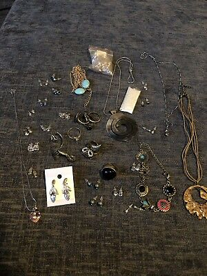 Job Lot Costume Jewellery, Rings, Necklaces & Earings