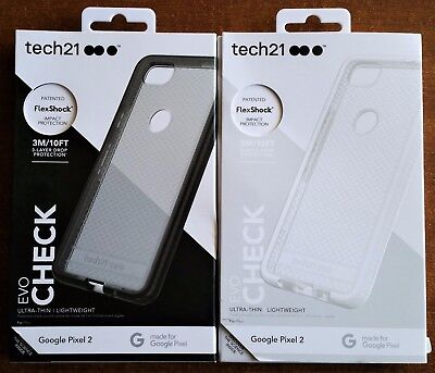 Tech21 Evo Check Case Cover for the NEW Google Pixel 2 Genuine & Authentic!!
