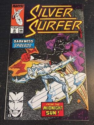 Silver Surfer#29 Incredible Condition 9.4(1989) Rom Lim Art, Wow!!