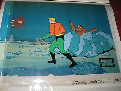 Aquaman Original Production Cel