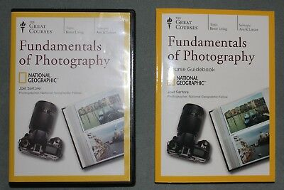 Fundamentals Of Photography - DVD and Booklet - The Great Courses - Joel Sartore