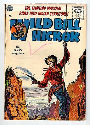 Avon WILD BILL HICKOK issue #23 May June 1955 vintage comic VG/FN condition