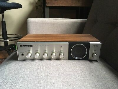 Vintage Panasonic FM-AM Multiplex Stereo IC FET Model RE-7412 Works Great!