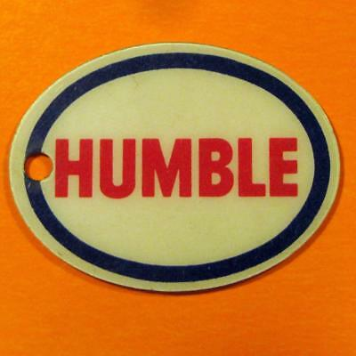 Happy Motoring Humble Gas & Oil Advertising Keychain
