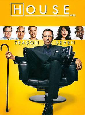 House: Season Seven (DVD, 2011, 5-Disc Set) Brand New Sealed! Free Shipping
