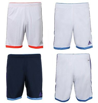 Adidas Youth Volzo 15 Training Soccer Climalite White Navy S/S Kid Pants S08944
