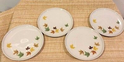 """Set Of 4 Franciscan INDIAN SUMMER Bread Plates 6"""""""