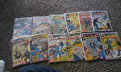 dc comics silver age and bronze are in here very collectible  LOT