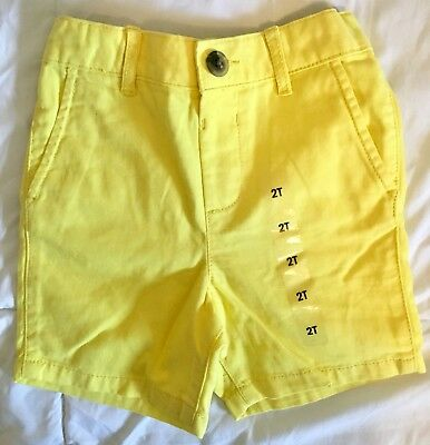 Children's Place Shorts Boy's Size 2T Yellow