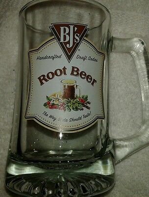 BJ's Brewhouse Handcrafted Draft Root Beer - Mug/Glass NEW