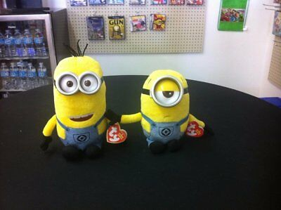 TY Original Beanie Babies Collection Set of Two Minions
