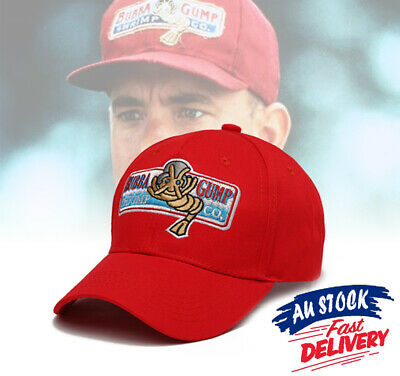Bubba Gump Hat Forrest Gump Shrimp Co Fancy Dress Halloween Party Costume Cap
