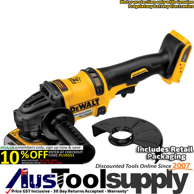 "Dewalt Xr Brushless 60V Max 54V Cordless 4-1/2"" - 6"" 150Mm Angle Grinder  Dcg414"