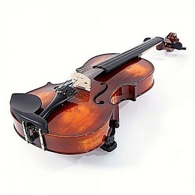 4/4 Beautiful New Maple Wood Full Size Student Violin / Fiddle With Case and Bow