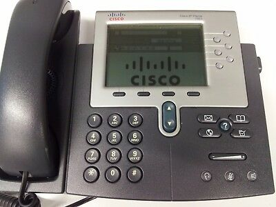 Cisco IP Phone Telefon POE VoiP / Voice over IP Business CP-7961G