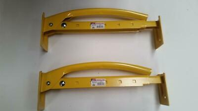 "2pcs MARSHALLTOWN 16"" Adjustable 6-10 Brick Tongs Hand Clamp Lifter Carrier M88"