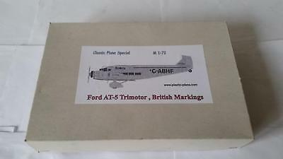 Classic Plane Special Ford AT-5 British Markings Transport Civil Passenger Plane