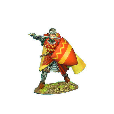 First Legion: CRU071 Crusader Knight with Cloak with Sergines Family Heraldry