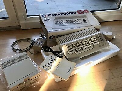 Commodore 64 II C 64 in OVP und Floppy 1541 II